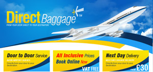 DIRECT BAGGAGE REISEGEPAECK KOFFER VERSCHICKEN